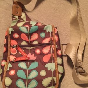 Lily Bloom Floral Crossbody